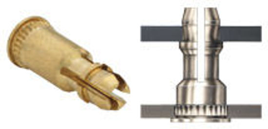 Picture of Broaching SNAP-TOP® Standoffs KSSB-156-16