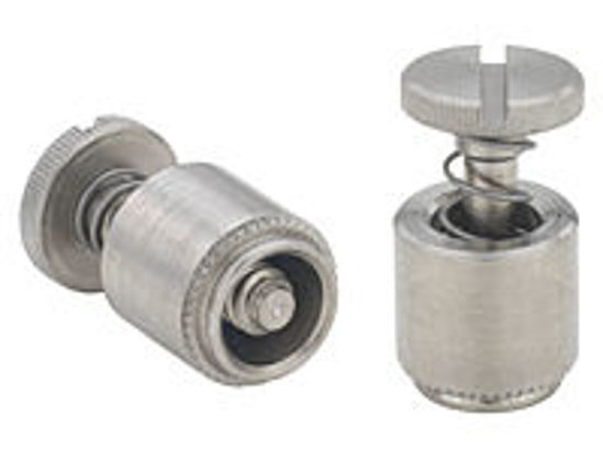 Picture of Captive Panel Screw-Screw Head, Spring-loaded PFC2-M4-50