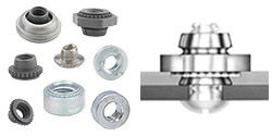 Picture of Miniature Self-Clinching Fasteners FEO-M3