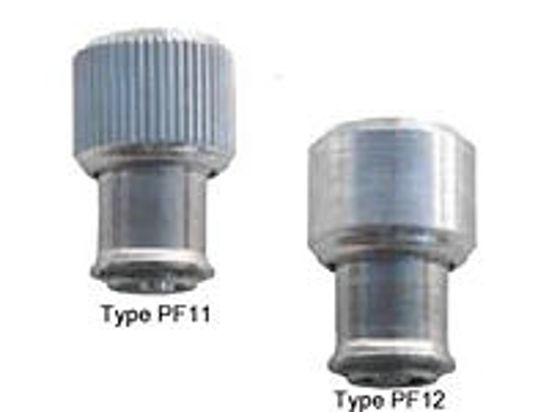 Picture of Large knob, spring-loaded PF11-M6-2