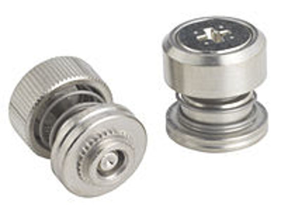 Picture of Captive Panel Screw-Low Profile Knob PF60-032-1 CN