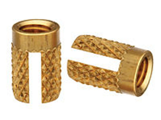 Picture of Press-in Threaded Inserts, Thru-Threaded PPB-M3-2