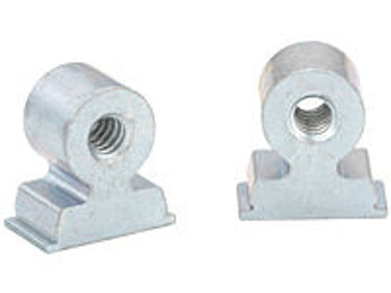 Picture of Steel Threaded Right Angle Fastener RASM4-9-9ZI