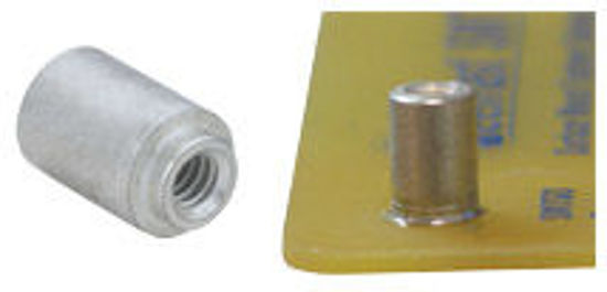 Picture of ReelFast® Surface Mount Nuts and Spacers YSMTSO-43107-DT