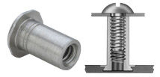Picture of Concealed-Head Standoffs CSS-M4-12