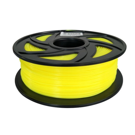 Picture of PLA Filament 1.75mm  1kg - Fluorescent Yellow