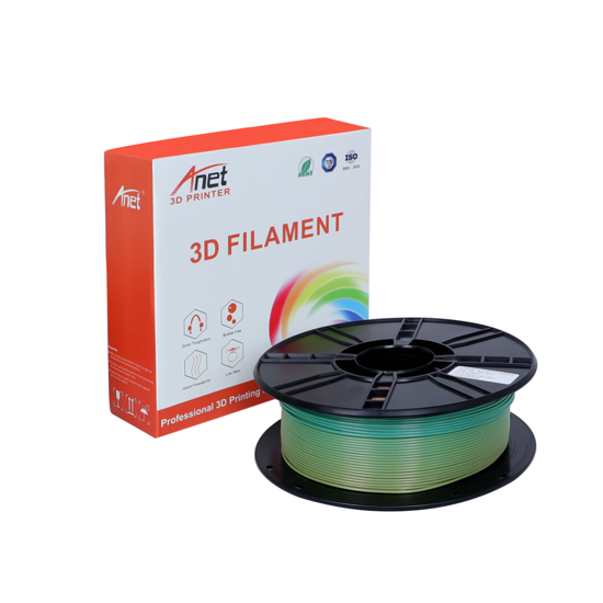 Picture of PLA Filament 1.75mm  1kg - Rainbow